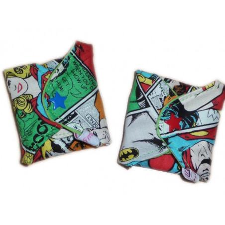 COMICS forro panty lavable (17 cm)