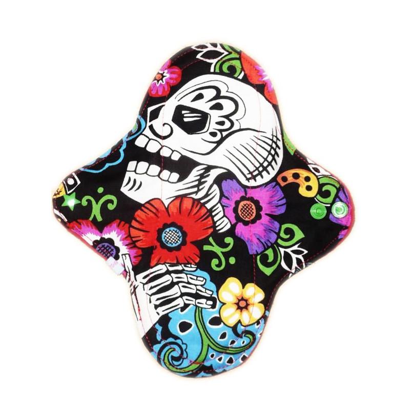 DIA DE LOS MUERTOS washable panty liner (22 cm)