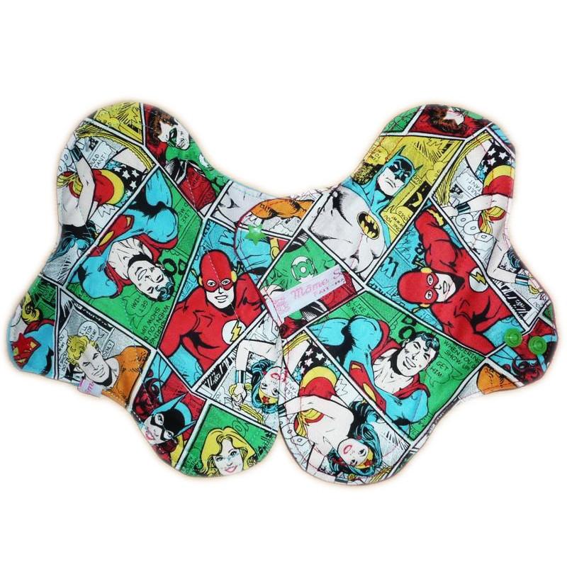 COMICS 2 washable panty protectors (22 cm)