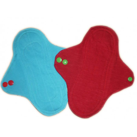 COMICS 2 protectores panty lavables (22 cm)