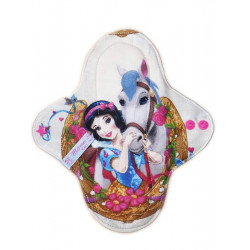 PRINCESSES washable panty liner (22 cm)