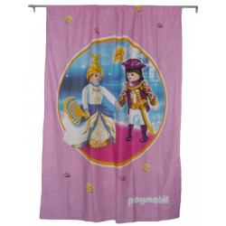 Pink curtain PRINCESSE PLAYMOBIL