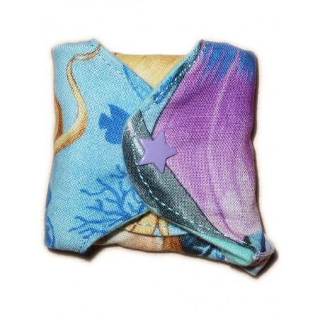 Protège-slip lavable SIRENES DE MER (17 cm)