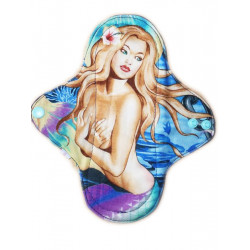 MERMAID OF THE SEA washable panty liner (22 cm)
