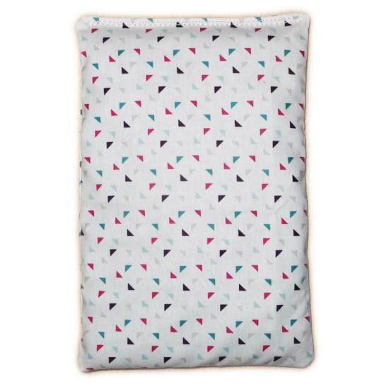 Dry hot water bottle TWINI cherry cores