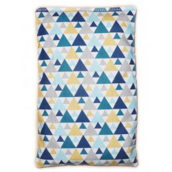 Dry hot water bottle TIGAYA BLUE cherry cores