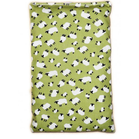 Dry hot water bottle THE LITTLE SHEEP cherry cores