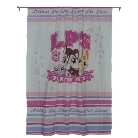 White curtain LITTLEST PET SHOP