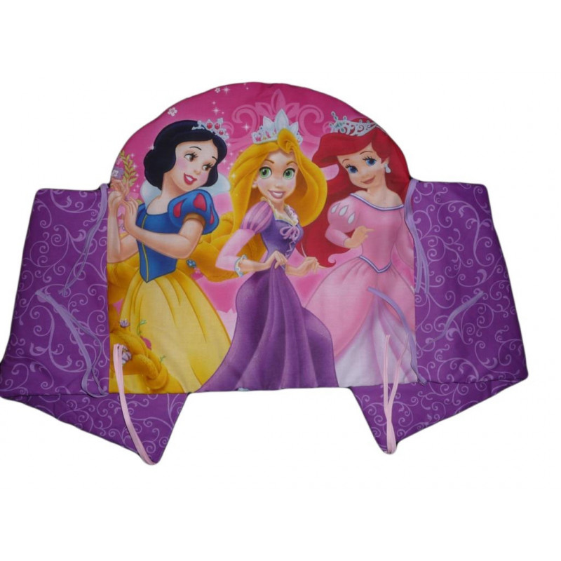 tour de lit princesses 40 x 180 cm. Black Bedroom Furniture Sets. Home Design Ideas