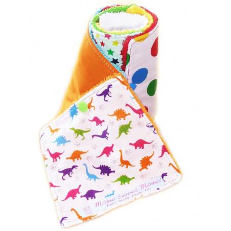 Papier toilette lavable DINOSAURES RIGOLOS (enfants)