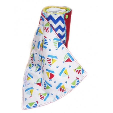 Handtuch waschbar KLEINES BOOT (Kinder)