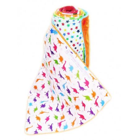 Handtuch waschbar LUSTIGE DINOSAURIER (Kinder)