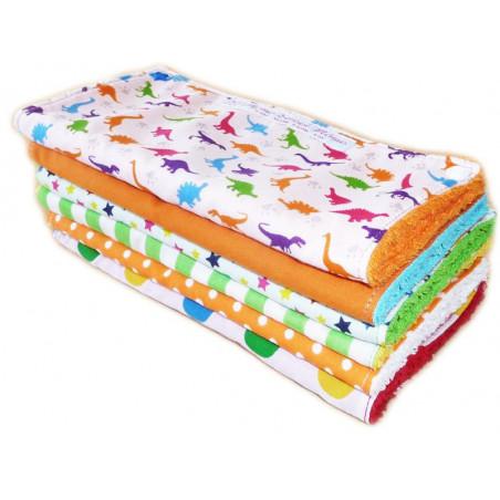 DINOSAURIOS DIVERTIDOS toalla lavable