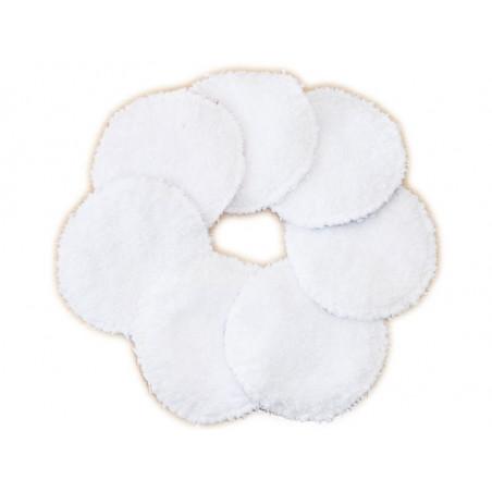 7 discos de limpieza lavables LA MARINA
