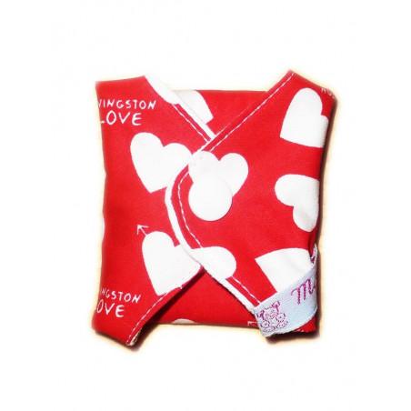 Salvaslip lavabile LOVE (17 cm)
