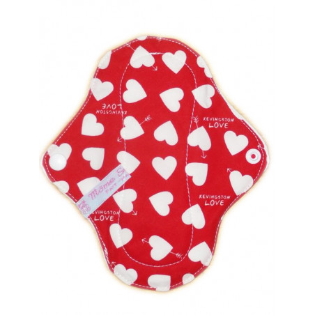 Protège-slip lavable LOVE (17 cm)