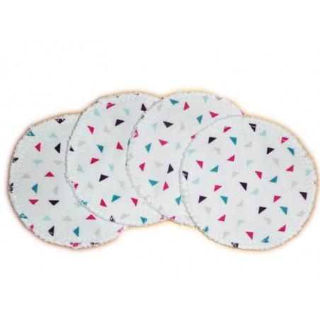 4 Organic Washable Cleansing Discs TWINI