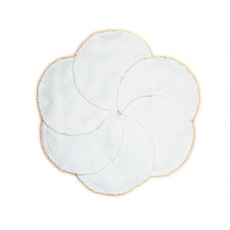 6 discos de limpieza orgánicos lavables TEKO