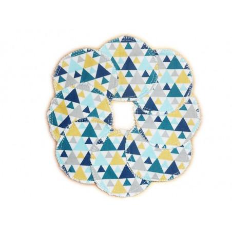 8 Organic Washable Cleansing Discs TIGAYA BLUE