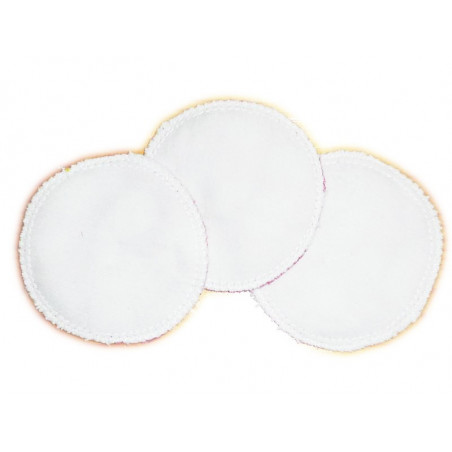3 Organic Washable Cleansing Discs LOVE