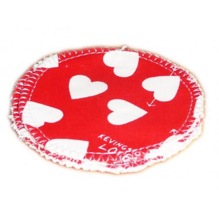 3 Dischi detergenti lavabili organici LOVE