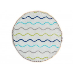 3 Organic Washable Cleansing Discs WAVES