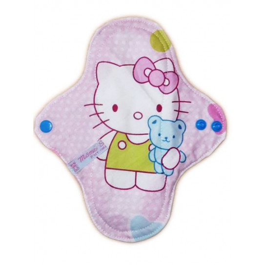 HELLO KITTY forro panty lavable (22 cm)