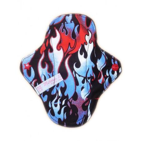Protège-slip lavable FLAMMES (17 cm)