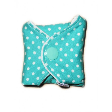 Pequeños puntos forro panty lavable (17 cm)