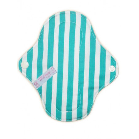 STRIPED washable panty liner (17 cm)