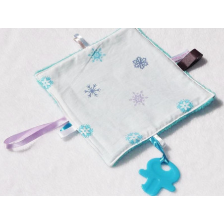 Doudou labels 3 in 1 - SNOW -