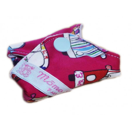 Protège-slip lavable HIPPIE (17 cm)