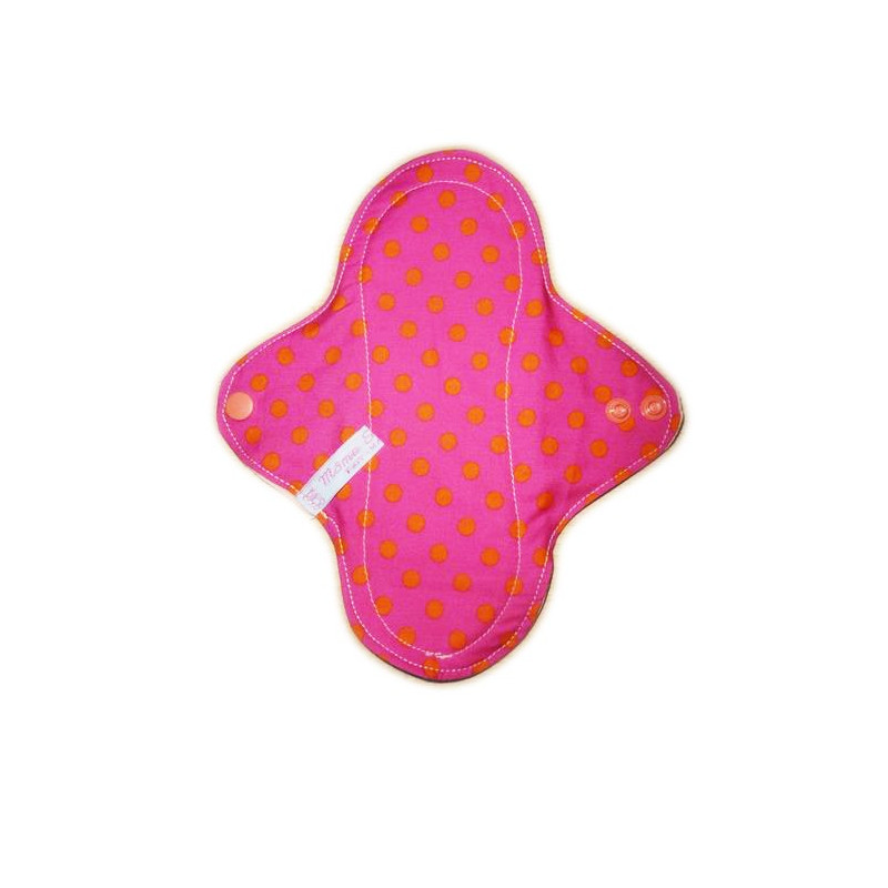 Pequeños puntos forro panty lavable (22 cm)