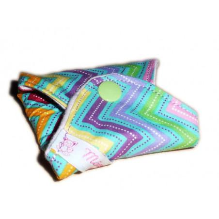 ZIG ZAG washable panty liner (22 cm)